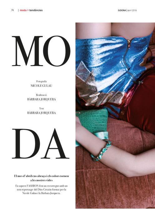 Editorial y moda revista