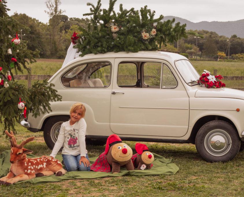 fotografía infantil navidad