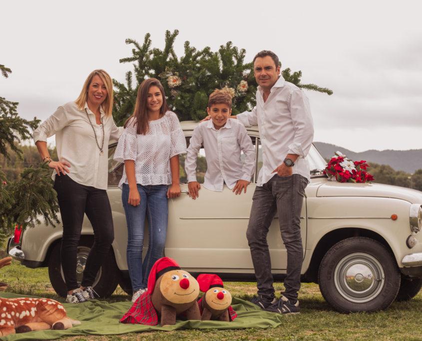 Retratos de familia Navidad